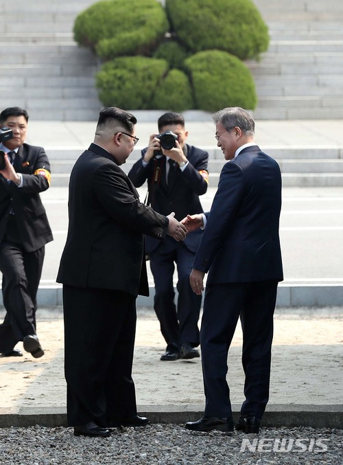 韓國人都很期待今天的會議內容,南北韓真的可以為