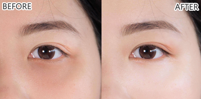 以前常常畫完眼妝還是覺得眼睛髒髒的,都是因為黑眼圈沒遮好~有了黑眼圈擦擦筆後就沒有這個困擾啦~