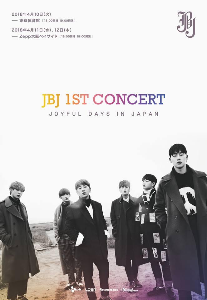 JBJ方面在2018年3月14日宣布JBJ所有成員皆不續約,團體活動只到4月30日為止。 4月17日推出最後一張專輯《NEW MOON》,這張專輯以正規專輯形式發行,專輯除了收錄三首新歌之外也收錄了前兩張專輯裡的所有歌曲,同時JBJ在4月21日及22日進行為期兩日名為「真的值得期待的演唱會[Epilogue]」的終場演出,在演唱會上與粉絲一同回顧了七個月以來的活動,成員們也流著淚講出出道以來的感想