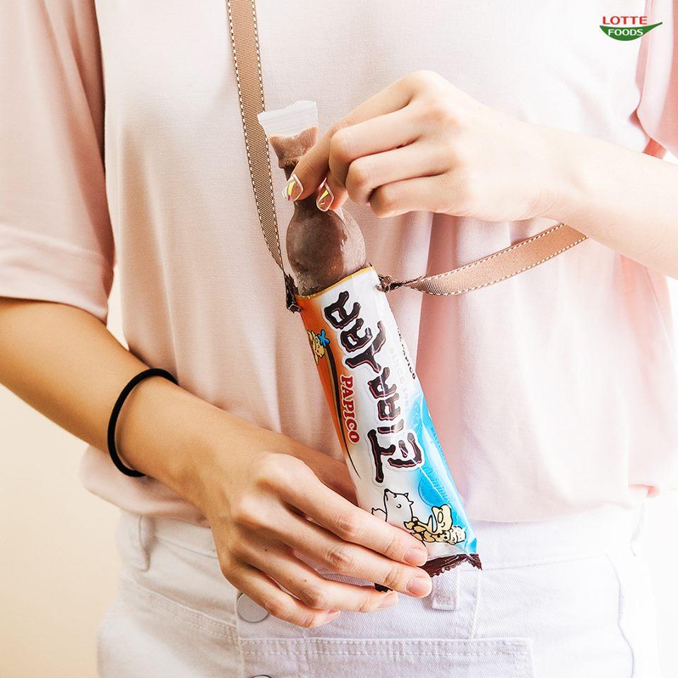 #1 樂天 PAPICO 棒棒冰中最有名的PAPICO,濃厚的巧克力牛奶味道>_<