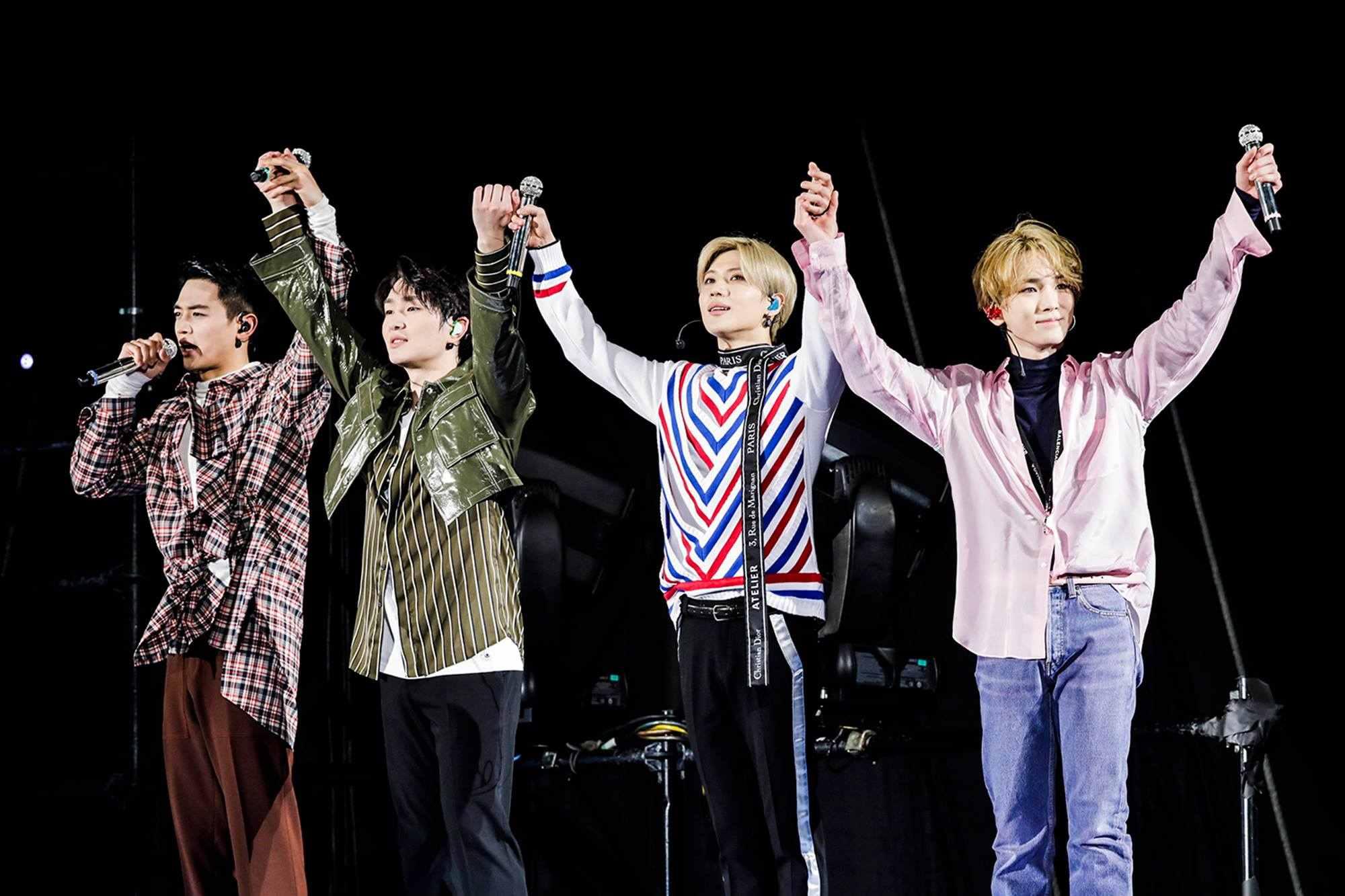 # SHINee - 5月底 剛結束日本活動的SHINee,也將在5月25日迎接出道十周年,SM也宣布成員將在5月底正式發表新專輯,這也是SHINee首次以「四人」第一次的回歸。
