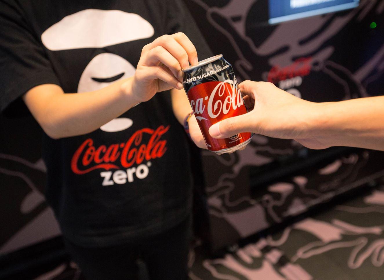 #10 可口可樂 ZERO 販賣量:239億韓元