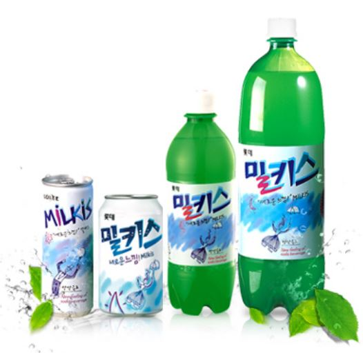 #5 樂天 Milkis牛奶蘇打 販賣量:561億韓元