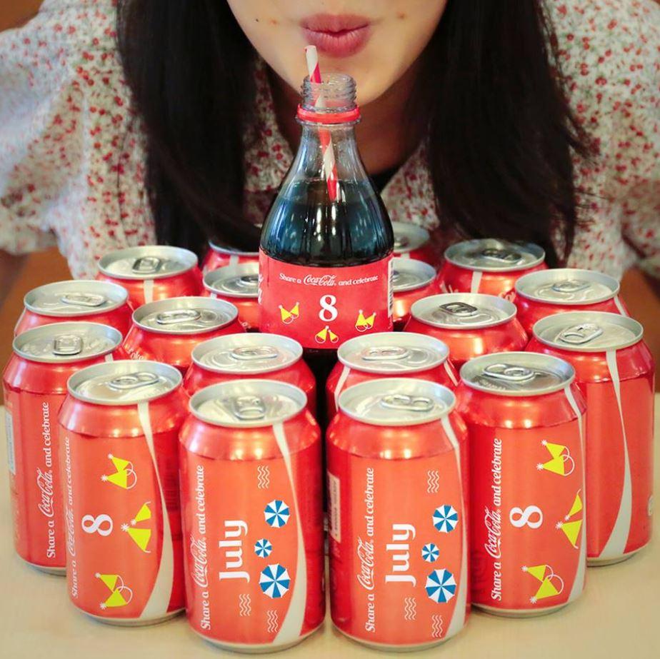 #1 可口可樂 販賣量:3,145億韓元