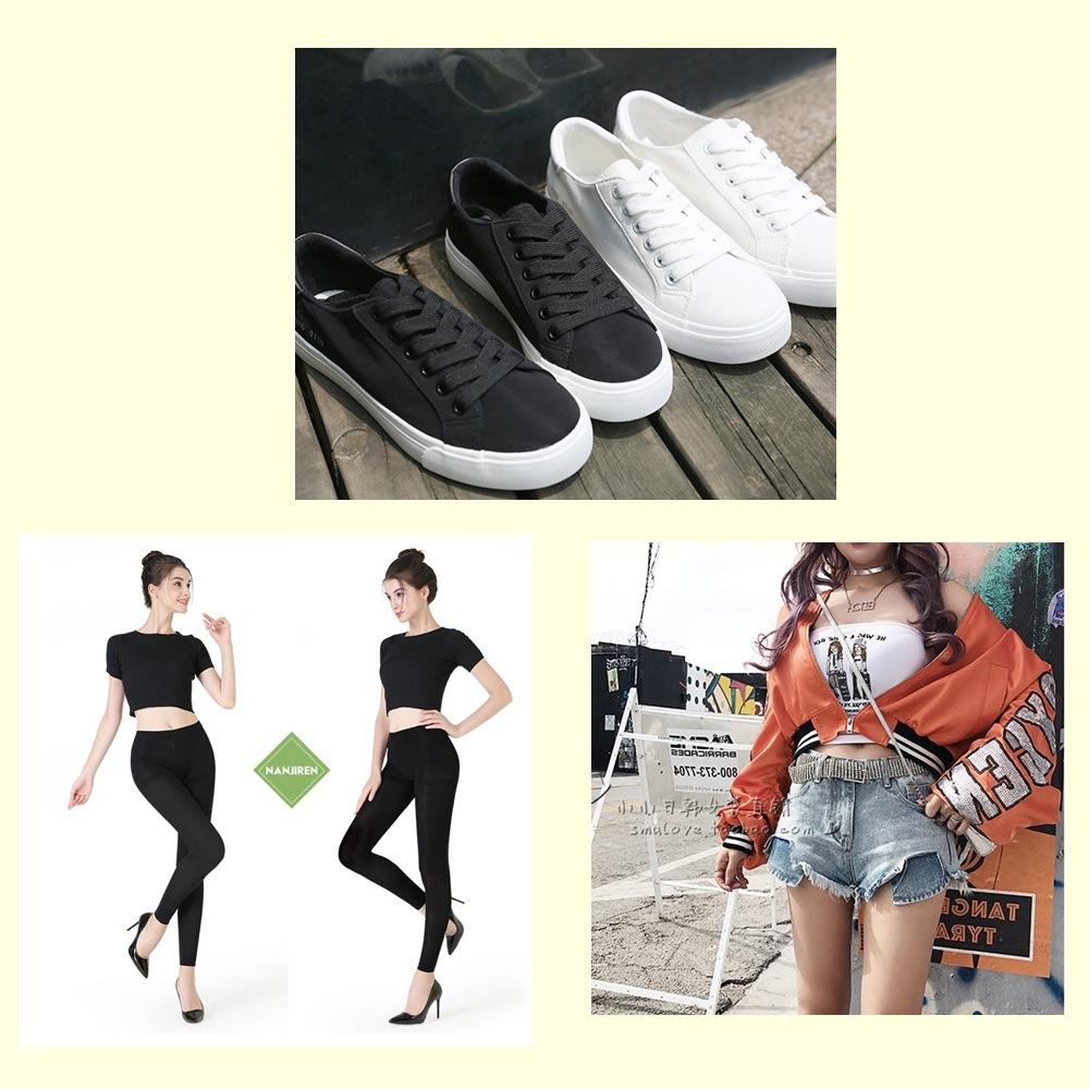 >球鞋+黑色絲襪+破褲短褲: 不是說這三個的搭配不對,只是因為這種搭配方法是比較久之前的流行,現在這樣搭沒有問題,只是沒有跟上潮流而已,但如果你本身就很喜歡這種穿搭,也是可以維持個人特色,不一定要跟隨時尚圈啊~~(真心)