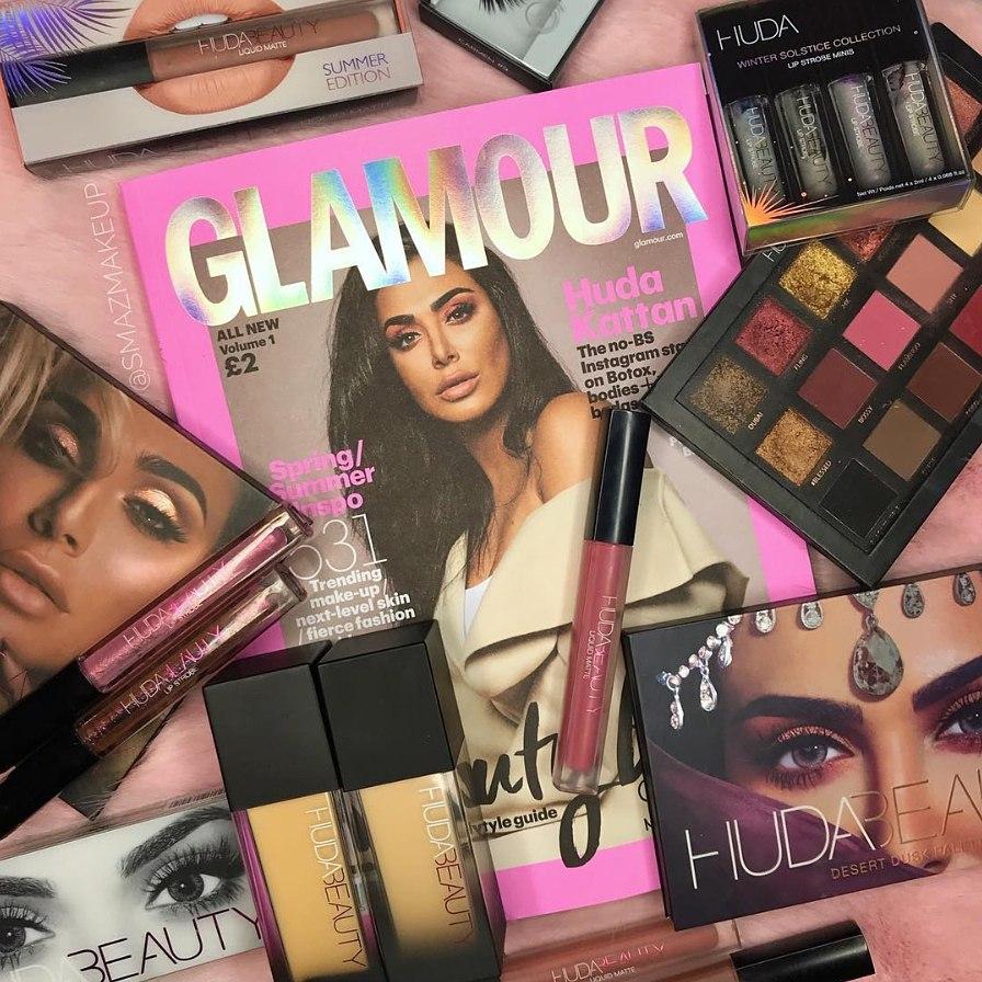 HUDA BEAUTY是由中東的網紅兼youtuber_Huda Kattan在杜拜所創立的品牌,Huda Kattan本來在美妝界就是赫赫有名,youtube頻道超過200萬粉絲!所推出的霧面唇蜜或是眼影盤都獲得很高的評價,接著就一起看看這些產品們吧!