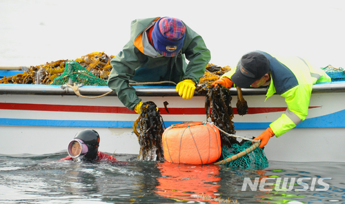 #8 農業-漁業從事員 平均年薪:1,544萬韓元