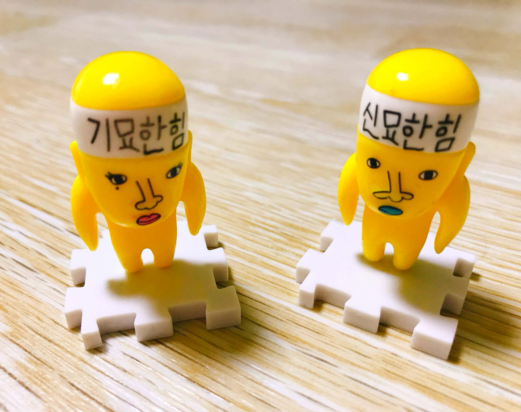 完成之後,可以把它們放在書桌或是辦公桌上擺飾,非常療癒。