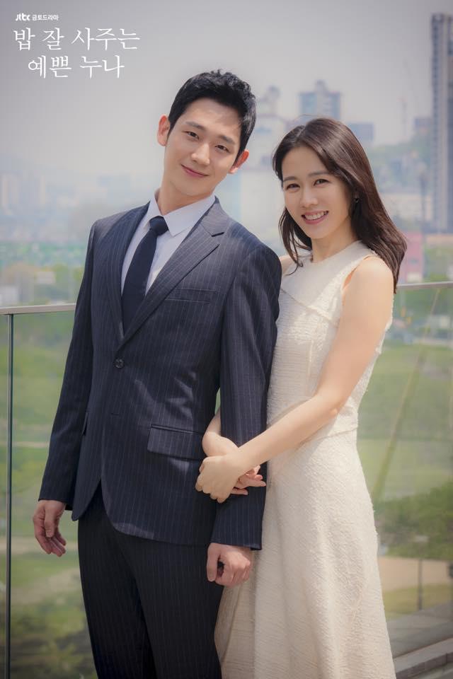 ✿TOP1 JTBC 《經常請吃飯的漂亮姐姐》 話題佔有率 : 15.96 ※此劇是描述長時間以來,一直情同姐弟的35歲女性和31歲男性之間,突然萌芽生出愛情的故事。