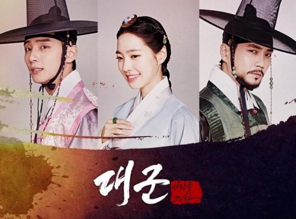 ✿TOP 8 TV朝鮮《大君-描繪愛情》 話題佔有率:4.18% ※講述兩位王子殷成大君和晉陽大君強烈的慾望和純真的愛情故事。