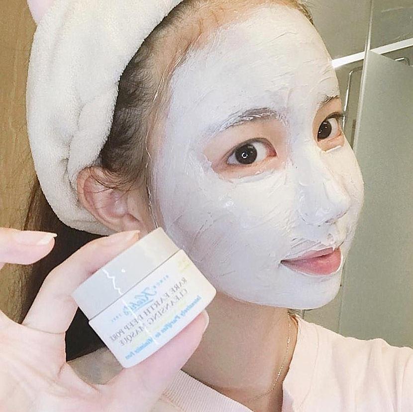 △Kiehl's 亞馬遜白泥淨緻毛孔面膜: 125ml/NT$1,200 熱銷NO.1清潔面膜,可以有效深層清潔並緊緻毛孔、還可以吸收多餘油脂,使用後肌膚潔淨又細緻。但是偽少女覺得這款面膜清清潔力有點強,建議一周不要用超過兩次喔! (敏感肌、乾肌每周不建議超過一次)