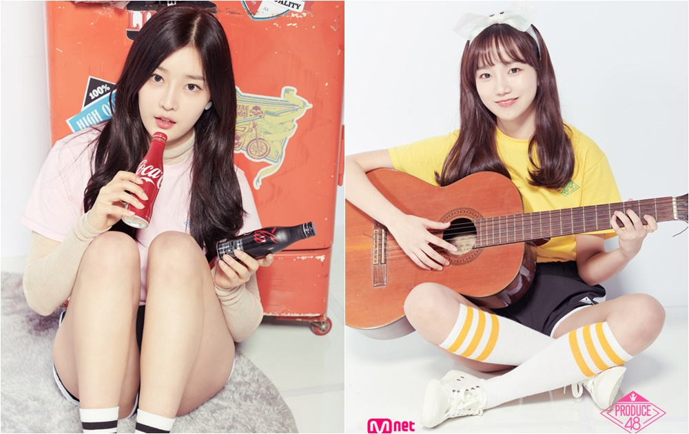 日前節目組也公開了參賽的練習生,除此之外眼尖的網友也發現有幾位練習生看起來很眼熟,有在關注韓國娛樂的粉絲們應該都不陌生吧,粉絲們也都希望兩人這次能夠順利出道~