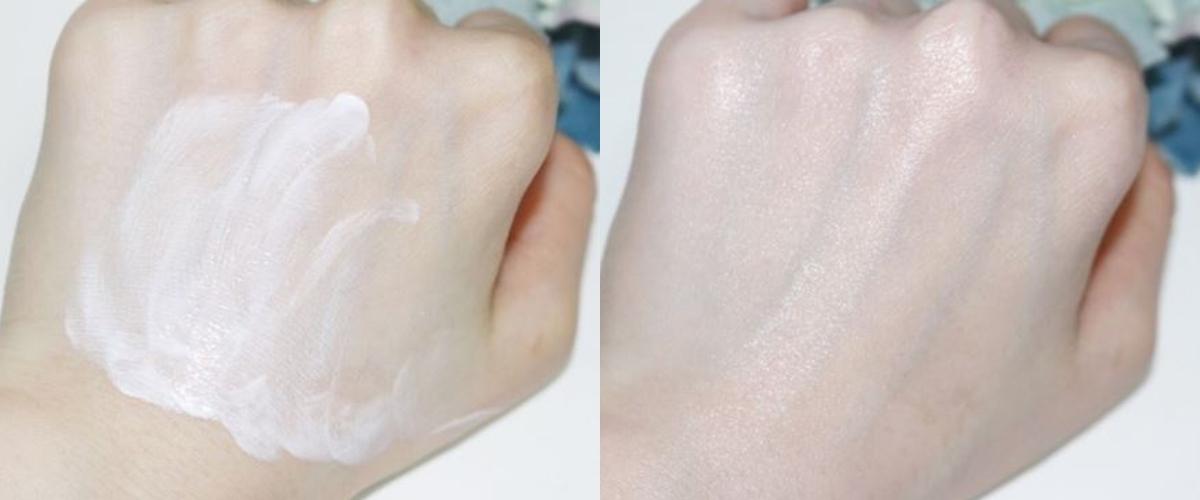 但只要等一下,讓防曬完全吸收進皮膚後就不會囉!質地也非常清爽不黏膩,肌膚比較敏感又討厭黏膩感的女孩這條防曬你一定會喜歡!
