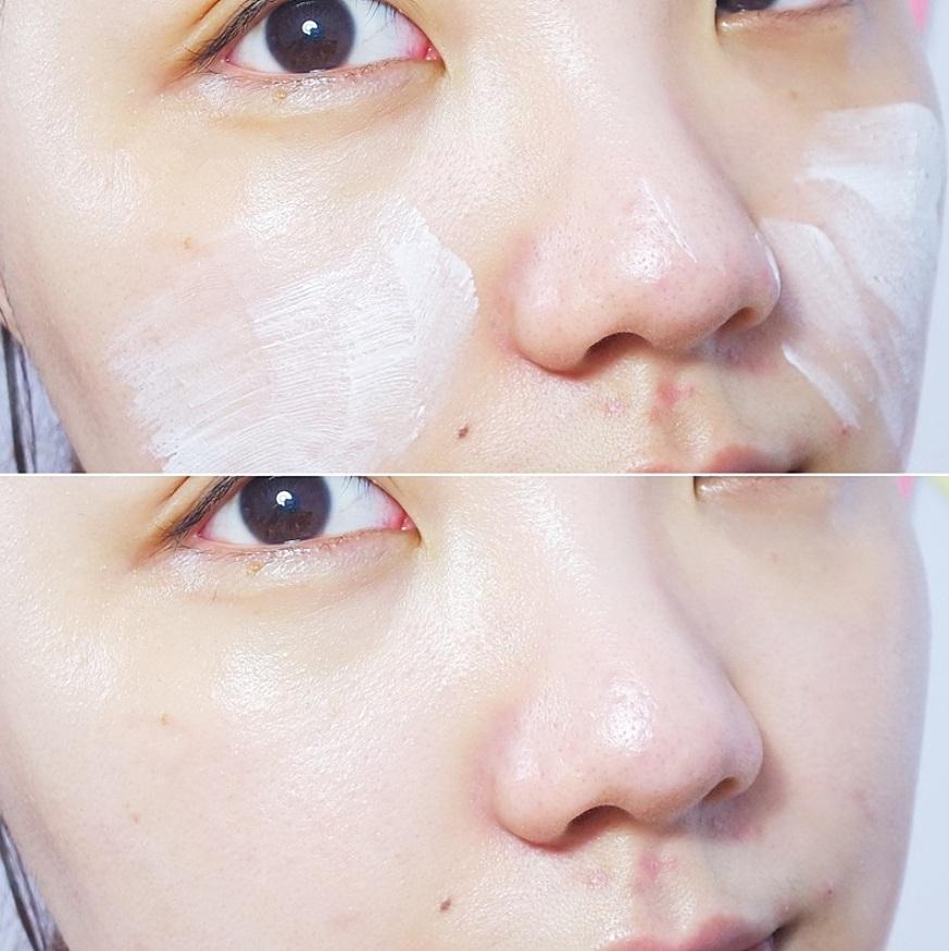 這下子你們可以知道韓妞的白皙肌膚是怎麼來的吧?就是這種不留痕跡的美白最心機啦XDD