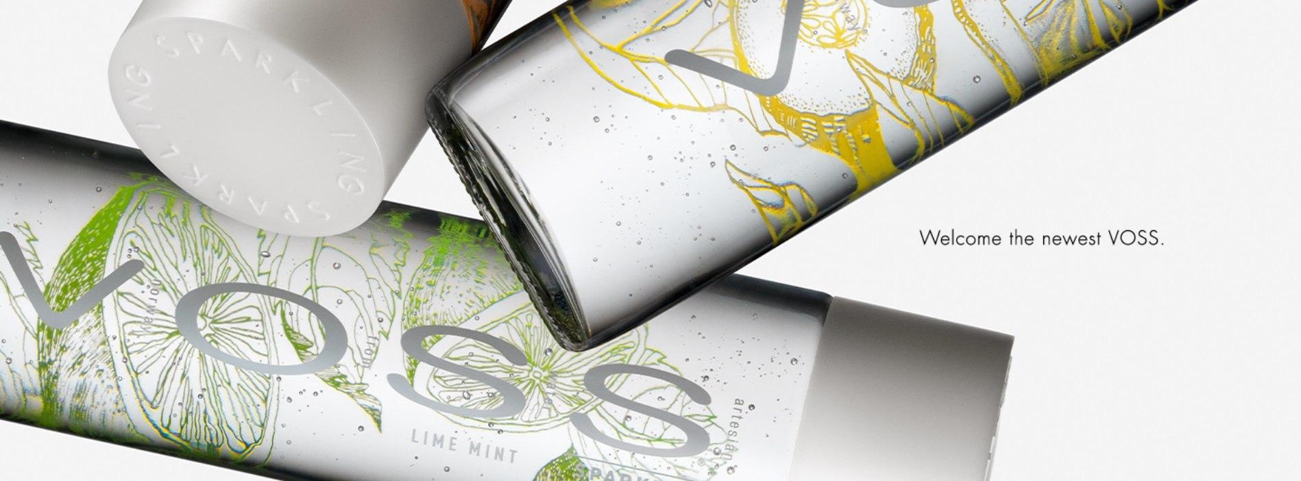 >vosswater: Vosswater是來自挪威的氣泡水,玻璃瓶身由設計師專業設計,瓶蓋有立體凸印更添加時尚設計感,這款氣泡是許多時尚名人的愛用者,維密模特兒、還有之前的電影「格雷的五十道秘密」都可以看到這瓶氣泡水的身影~還被譽為水中的勞斯萊斯,是不是浮誇XDD除了一般原味外,還推出了檸檬薄荷、橘子檸檬、檸檬黃瓜,三種口味。