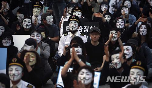 大韓航空則解釋「文件的眞僞和出處無法確認,人事管理都處於透明狀態」 可是自稱曾在大韓航空人事部工作的舉報者表示只是其中一部份文件,在不久將來會公開更多資料。