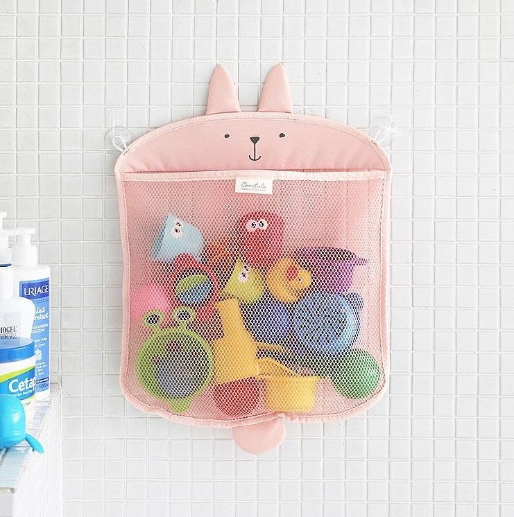 10x10推出可愛的浴室收納袋,粉粉的整個超級少女心的啊~拿來裝一些雜七雜八的好適合喔!