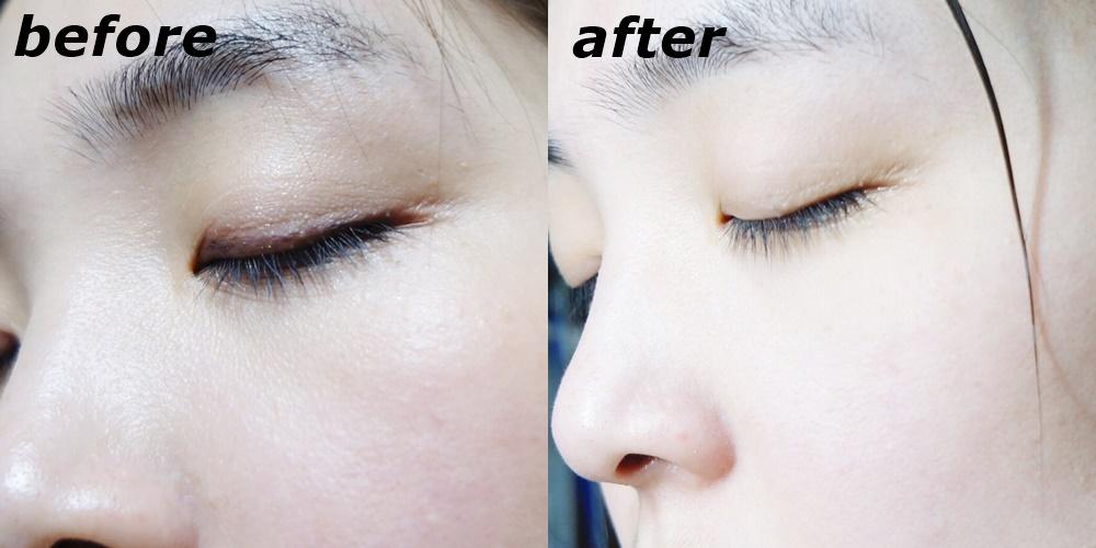 使用完之後肌膚變得超乾淨啊!不僅殘妝都消失了,甚至連角質也都被代謝掉,肌膚變得光滑又細緻,甚至還明亮不少呢!