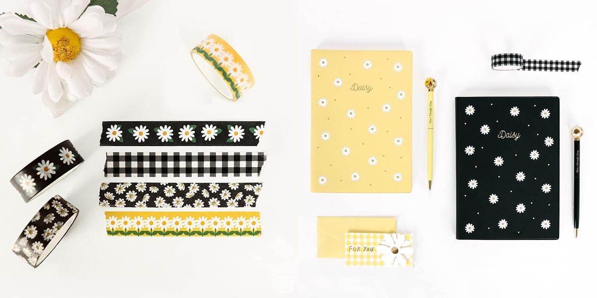 最常出現的文具用品當然也不會少,黑色和黃色款為主打色,筆記本、便條紙、筆,或者是紙膠帶應有盡有,完全可以包套購買也不會顯得太做作啊~