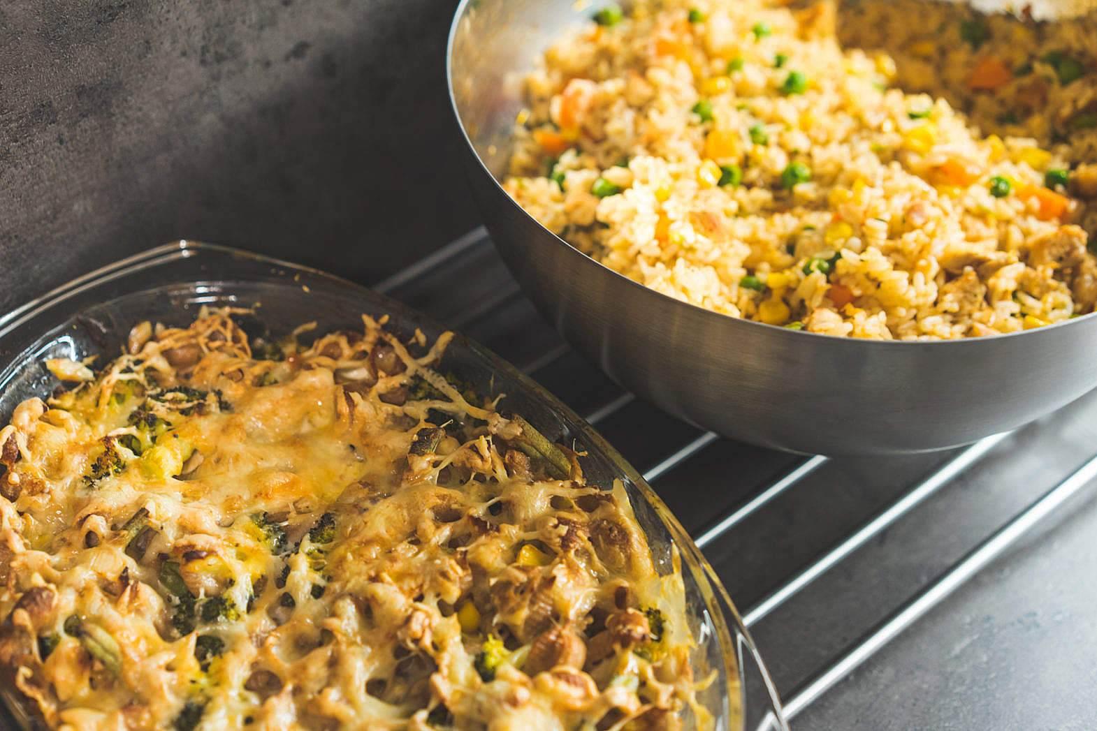 6. 澱粉類中最愛白飯。