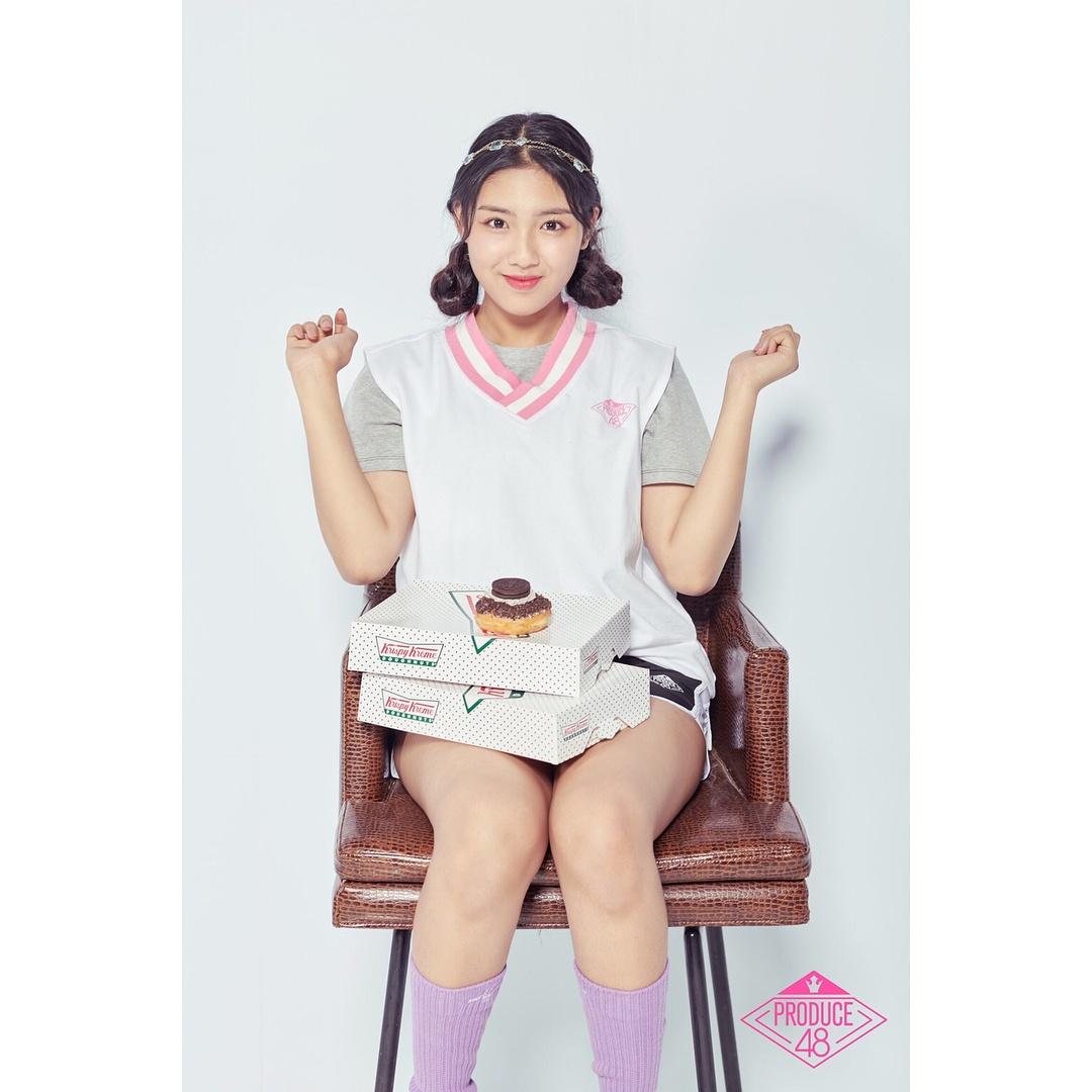 TOP 13 韓初媛(CUBE娛樂) 以上三位練習生真的很可惜啊~ 接下來是在出道名單中的12位練習生!