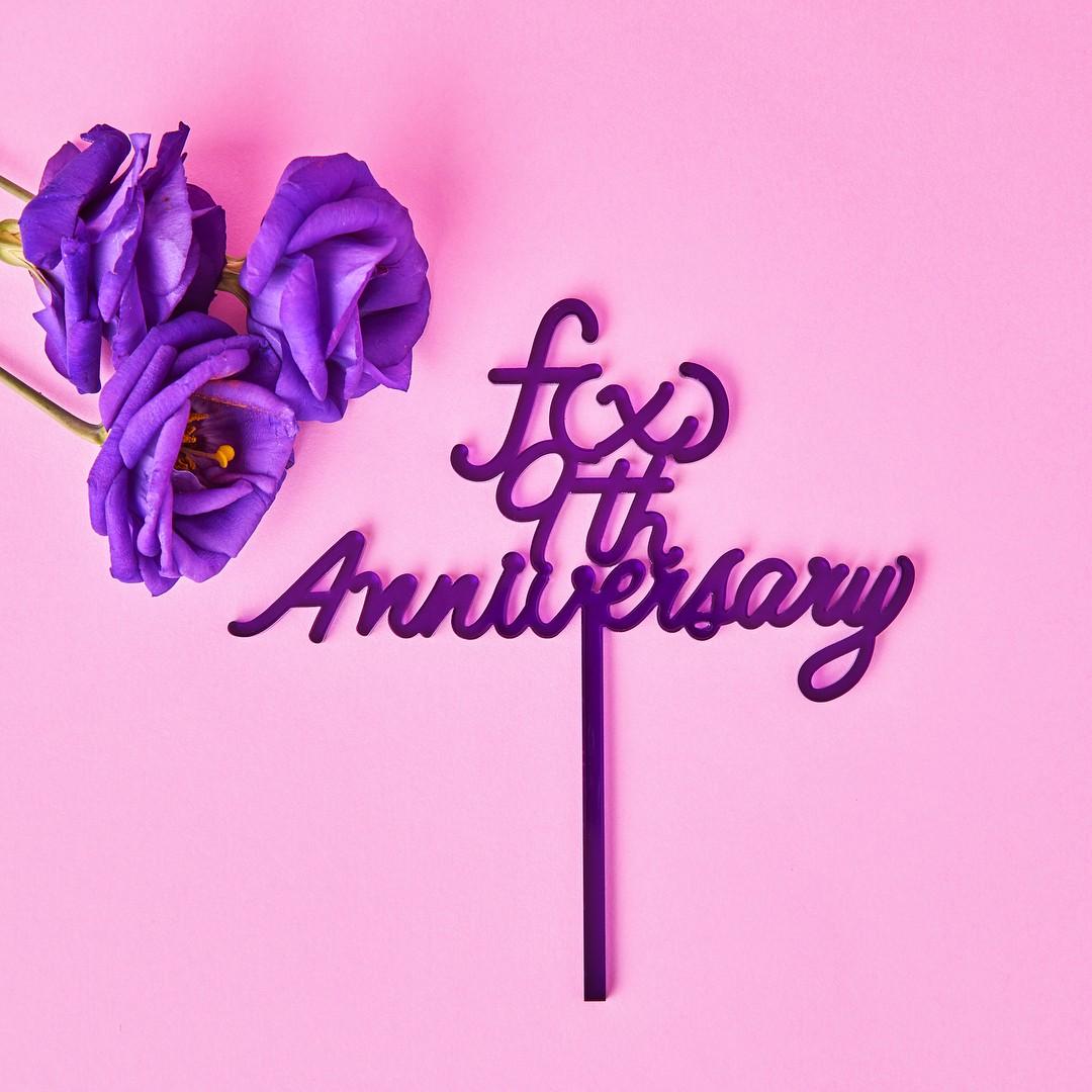 昨日F(x)迎來了出道九週年,明明是該好好慶祝的日子,卻令粉絲們感到特別不捨...