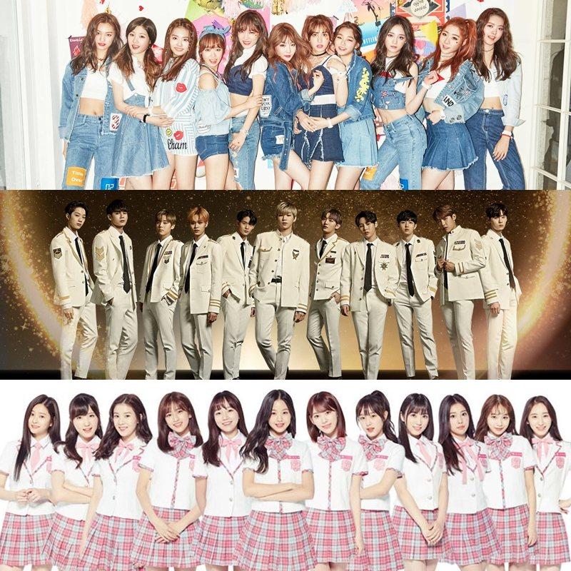 最近更有韓國網友點出這三季出道的I.O.I、Wanna One、IZ*ONE的共同點,不知道粉絲們有沒有發現是什麼呢?