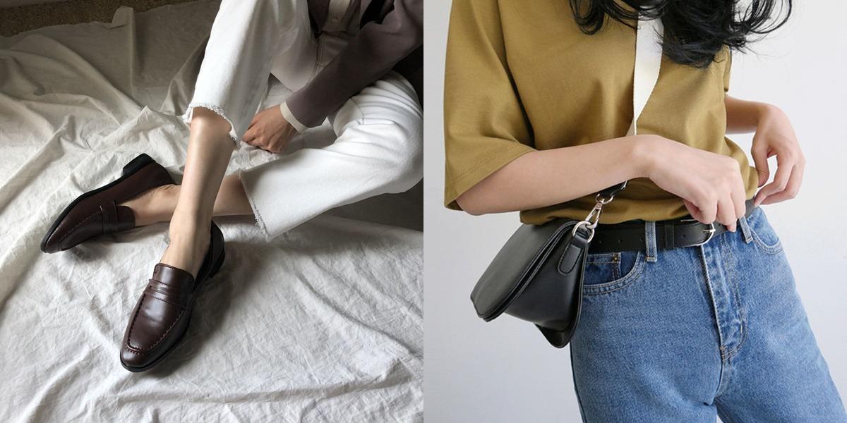 除了服飾之外,像是鞋子和包包也會讓你選到瘋狂,各式各樣超值的單品,一定都是在韓國歐膩們的SNS上會看到,重點是品質和價錢都很合理,摩登少女買到破產好像也很合理吧?(自己說)