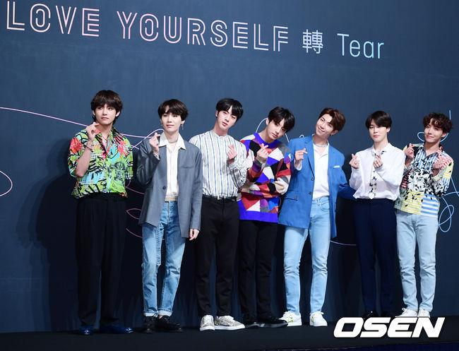 最近發行的改版專輯《Love Yourself 結 'Answer'》持續破紀錄,目前韓國銷量已經累積超過193萬張,當時短短一周的時間就登上8月銷量冠軍