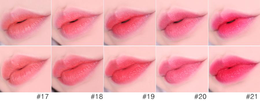 而且有用過peripera唇彩的人就知道,他們家雖然是霧面唇彩,但是卻不會有太乾的問題,擦在嘴巴上就像絲綢一樣輕輕散開,不會讓嘴唇有任何負擔感。