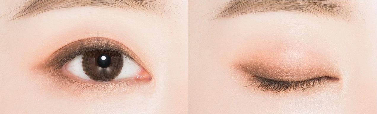 【畫自然又深邃的眼神讓妳看起來更漂亮】 3.眼妝:MISSHA 三色眼影 台幣169元 目前有多達16個色號可以選擇,每個眼影裡面都有3個顏色,只要用手指一抹,再抹到眼皮上一次就可以完成眼妝,剛開始學化妝的初學者們也可以輕鬆畫出漂亮的顏色~粉質細膩不會不好上色,忙碌的早晨可以快速完成漂亮的眼妝!