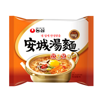 安城拉麵是韓國於1983年推出的國民拉麵之一,推出至今都只有一種口味。