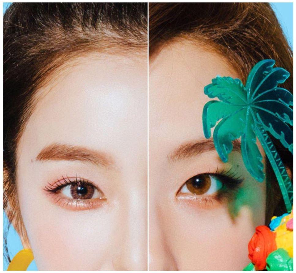 看到這張圖,應該很好猜了吧!就是Irene和SEULGI阿~ 也有網友將兩人的照片一半一半拼起來,看起來好像真的有這個人ㅋㅋㅋ 根本是直接幫Red Velvet添一個新成員阿!