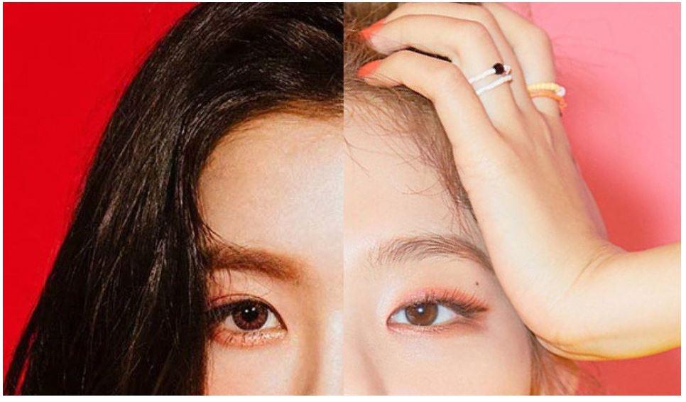 沒想到Irene和SEULGI臉放在一起會這麼適合! 兩人明明分開來看的時候完全不像,但拼在一起看又好像是同一個人,真的太神奇了啦!