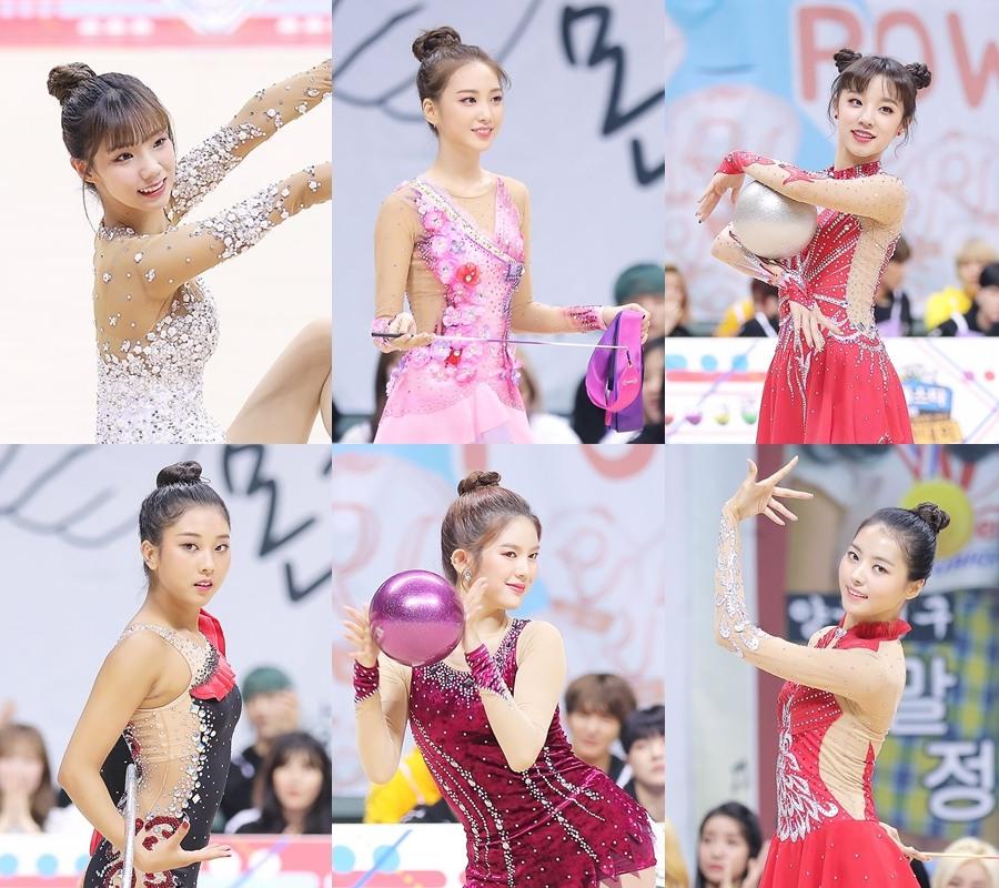 此次參加體操項目的有CLC丞延、(G)I-DLE雨琦、PRISTIN娜榮、宇宙少女夏天、MOMOLAND Daisy、APRIL娜恩及ELRIS Yukyung。除了第二次參加的丞延,其他人都是此次比賽的新面孔!
