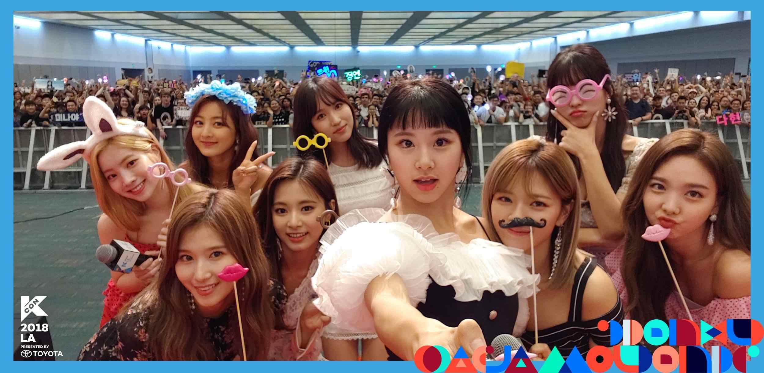 7月的《M!COUNTDOWN in TAIPEI》結束後,緊接者在8月《KCON 2018 LA》也展開了,陣容也是越來越華麗阿!