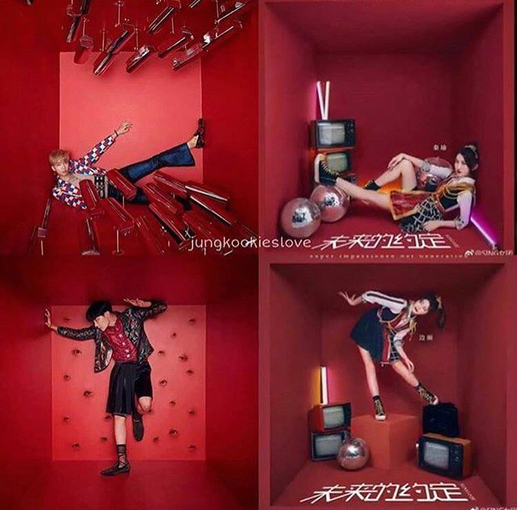 SING的照片公開後,馬上引來防彈粉絲的注意,許多粉絲表示:「這和防彈少年團最近的概念照非常像。」