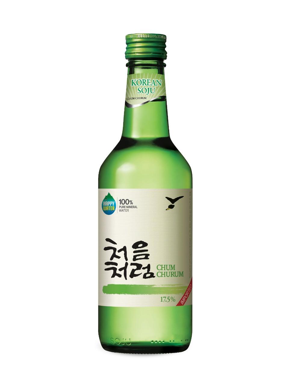 3. soju 相信這個大家都很熟悉,就是燒酒。