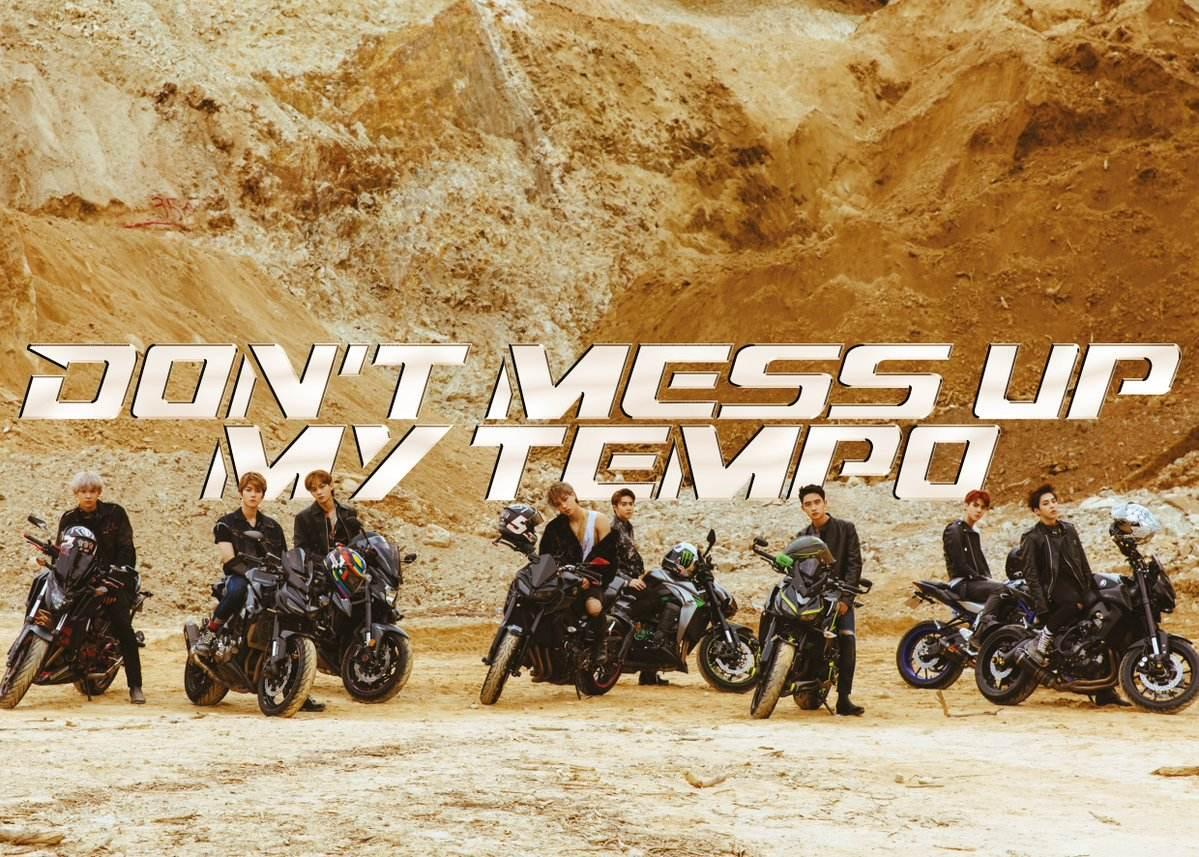 第一組就是即將於11月2日發行正規五輯《DON'T MESS UP MY TEMPO》的EXO!愛麗們真的是久等啦~~~
