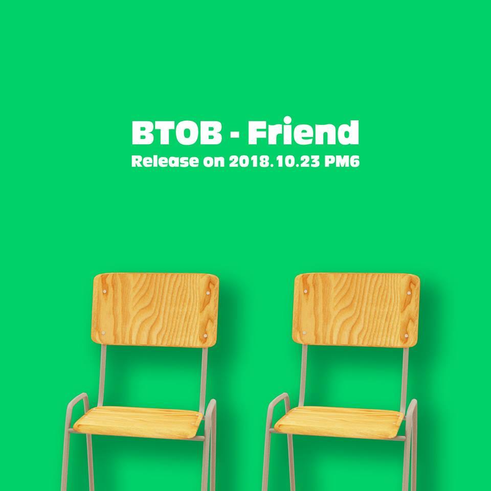 下個月要回歸的BTOB,將於23日釋出先行曲《Friend》,而這首歌是恩光當兵前就已完成錄音的歌曲,這個入伍禮物很可以!!!