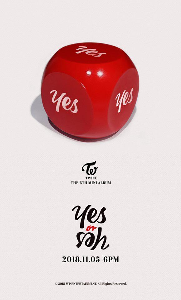 另外,平均三個月一回歸的TWICE新專輯也將在11月5日公開了! 讓我們一起期待吧!^^