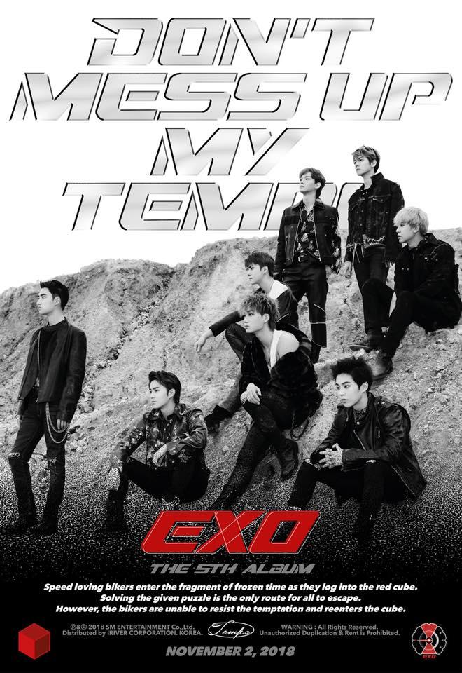 沒錯沒錯!你的直覺是對的!EXO宣布即將於11/2韓國時間下午6點,於各大音源網公開正規五輯音源及MV~~光看海報就覺得好養眼,快來,這樣的EXO是第一次吧?