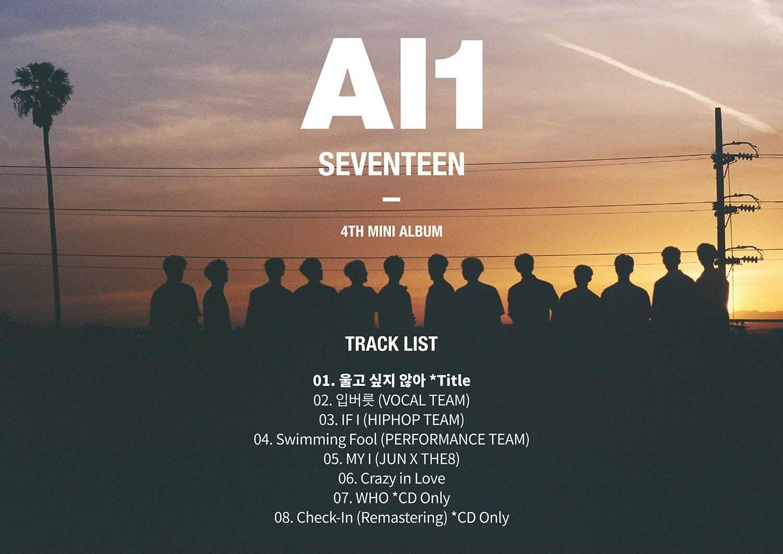 《Al1》這張迷你專輯發行首周的銷售量就已突破19萬也打破了Seventeen自身的記錄