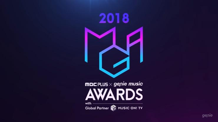 #2018 MGA(MBC PLUS X genie music AWARDS) 典禮時間:2018年11月6日  今年新增的兩個頒獎典禮,其中一個是「MBC Plus X Genie Music Awards」,除了傳統三大獎之外,還增設了「年度最暢銷藝人」獎。目前確認參加的藝人有BTS防彈少年團、Wanna One、TWICE以及美國知名創作歌手查理·普斯,TWICE將在此公開新歌舞台。