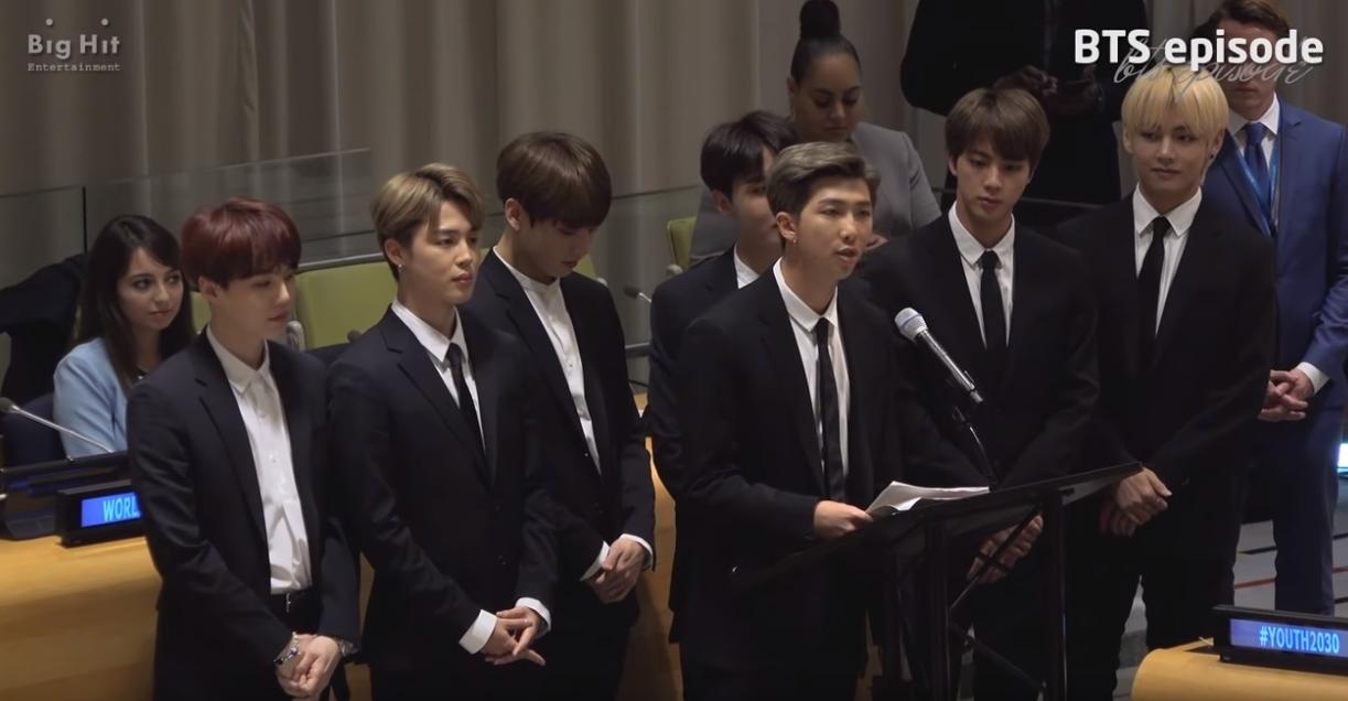 大家還記得上個月防彈少年團在聯合國非常激動人心的演講嗎?