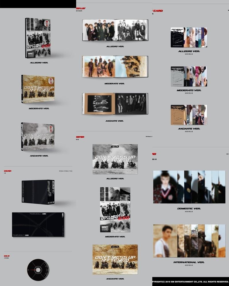而在公開專輯配置圖後... 竟然讓粉絲們陷入混亂!這樣看著專輯配置圖,看似沒有什麼問題,三個版本的專輯、三種海報、每位成員都有三種小卡。