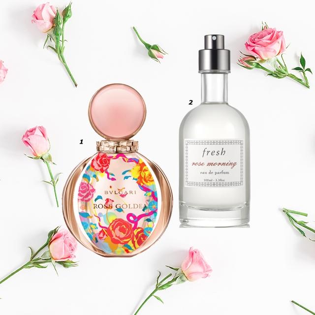 噴灑香水的瞬間充滿浪漫情懷的玫瑰香氣,秋冬的玫瑰香水與其他季節不同,在尾香的部分顯現出沉穩的香,不會輕易散去,在身上留下淡淡的香,將玫瑰的精髓大馬士革玫瑰作爲主調,融入麝香和檀香的BVLGARI 香水的魅力中,向香水入門者推薦白茶、小蒼蘭等香水,晨光般的味道更加輕柔。 1.BVLGARI ROSE GOLDEA 限量版 2.ROSE MORNING EAU DE PARFUM