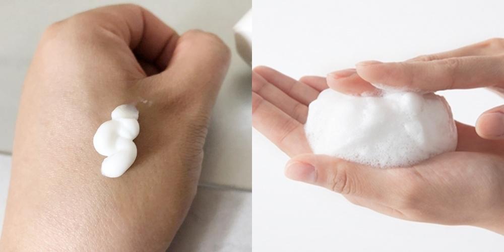 不過今天女神帶來的這款洗面乳是所有膚質都適用的水平衡洗面乳。首先洗面乳能搓揉出柔軟綿密的藍莓潔顏泡泡,其中添加甘油,能幫助維持水分平衡及提升保濕力,洗後臉依舊水潤不緊繃,能幫助肌膚抓住健康pH值。