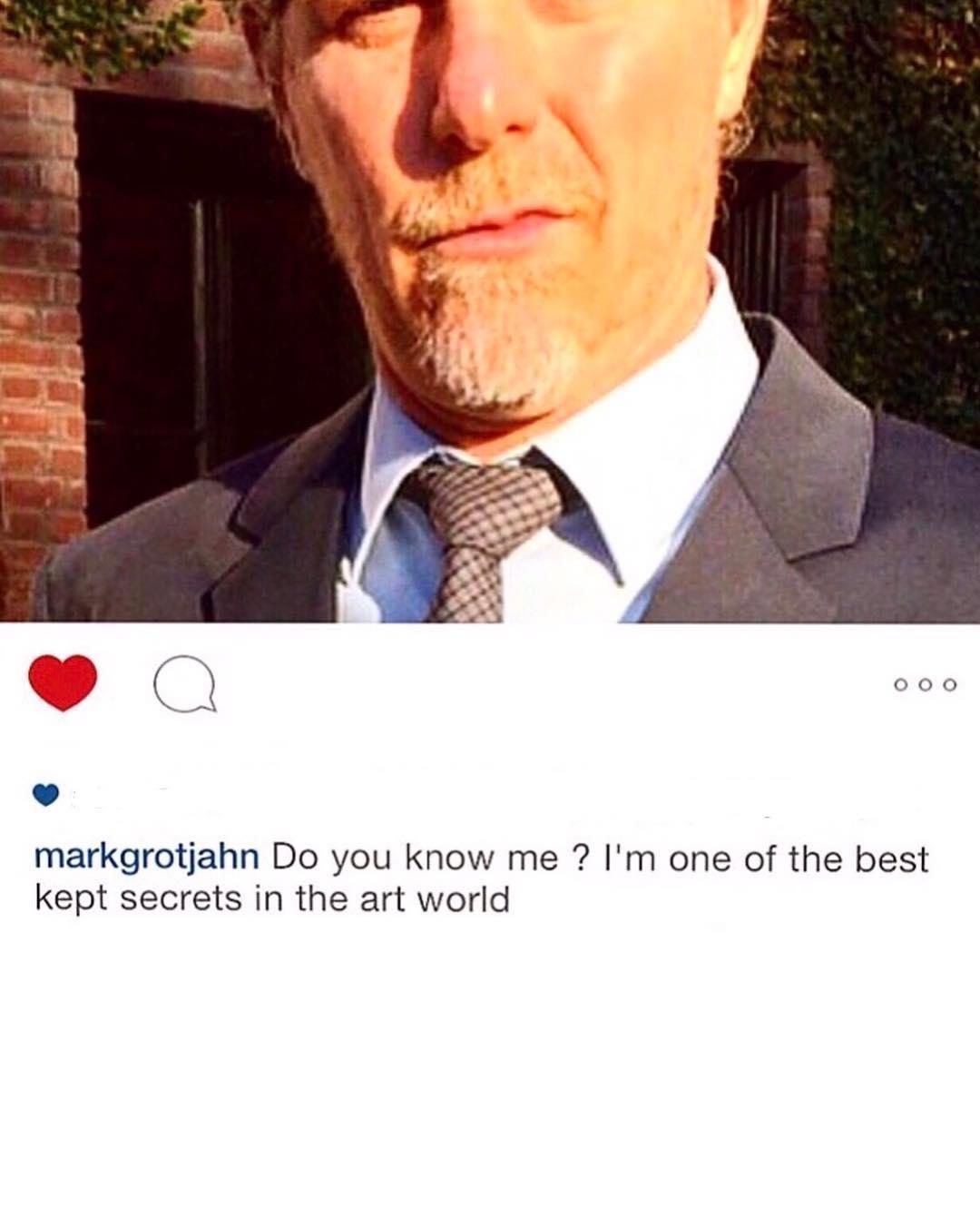 隨後也更新一張Mark Grotjahn 的IG截圖照片,而這兩篇文也湧進了大批粉絲留言,紛紛表示自己對偶像T.O.P的思念之情。