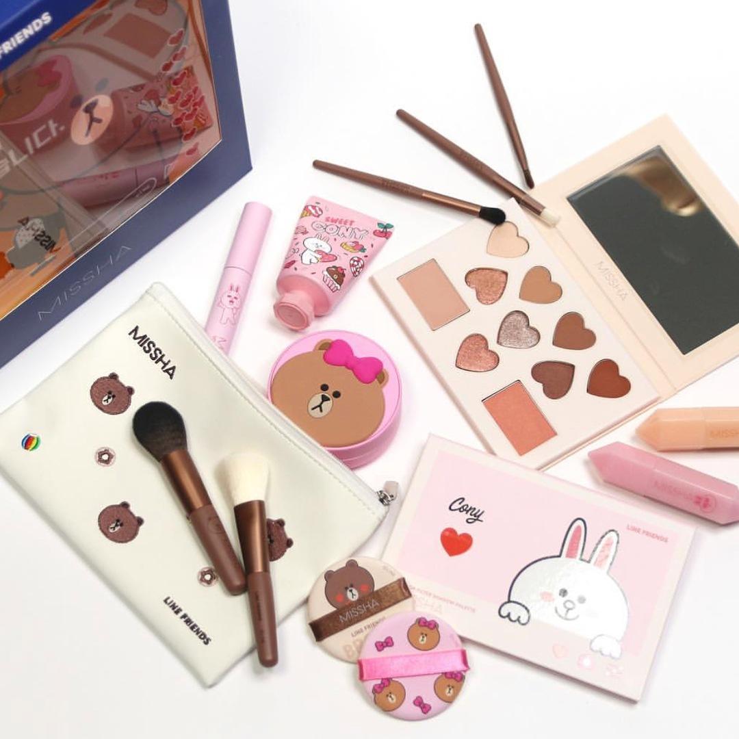 MISSHA的粉質和顯色系想必不用偽少女多做解釋,平價的價格卻能擁有超高的CP值,也難怪在韓國一直深受女生的歡迎啦!